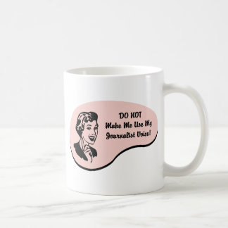 Journalist Voice Basic White Mug