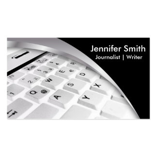 Journalist | Writer | Blogger |Reporter Pack Of Standard Business Cards
