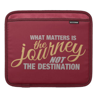 JOURNEY custom iPad sleeve