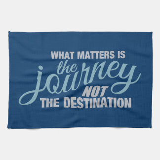 JOURNEY custom kitchen towel