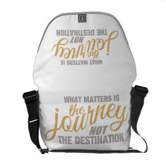 JOURNEY custom messenger bag, medium Messenger Bags