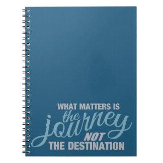 JOURNEY custom notebook