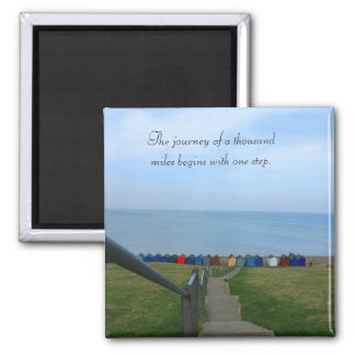 Journey of A Thousand Miles Magnet