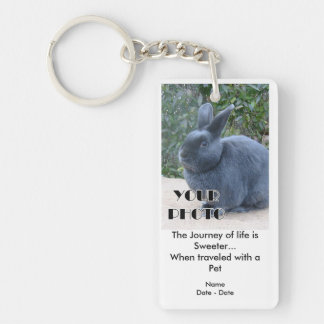 Journey Of Life (Pet) Pet Memorial Keychain