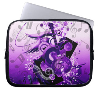 Journey of music_ laptop sleeve