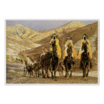 Journey of the Magi c. 1894 James Tissot Poster