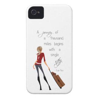 Journey Quote iPhone Case iPhone 4 Cases
