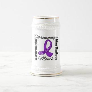 Journey Ribbon -  Fibromyalgia Awareness Month Mugs
