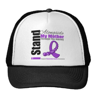 Journey Ribbon For Pancreatic Cancer (Mother) Mesh Hat