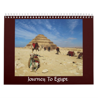 Journey To Egypt - pictures of Egypt Wall Calendars