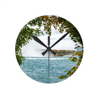 Journey to Niagara Falls Wall Clock