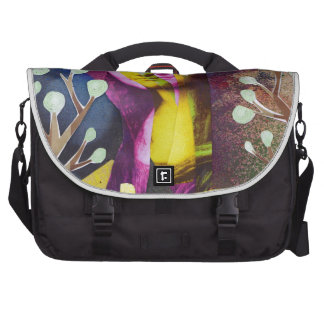 Journey to see La Gioconda Laptop Commuter Bag