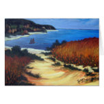Journey to the Coast Greeting Card