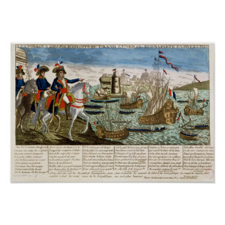 Journeys and Exploits of General Bonaparte 1798 Posters