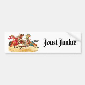 Joust Junkie Bumper Sticker
