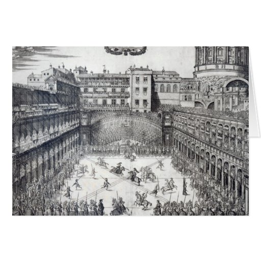 Jousting, 1565 cards