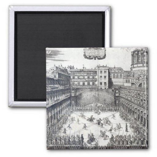 Jousting, 1565 refrigerator magnets