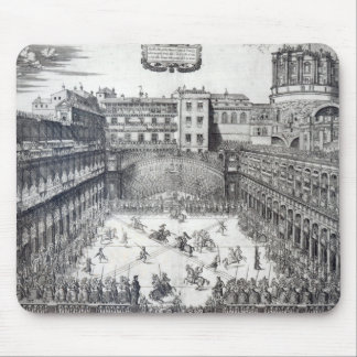 Jousting, 1565 mouse pad