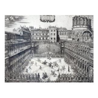 Jousting, 1565 postcard