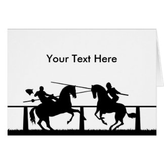 Jousting Card
