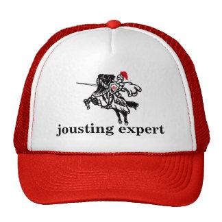 jousting expert mesh hat