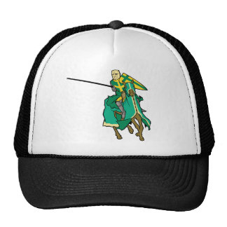 Jousting Green Knight Trucker Hat