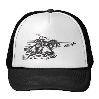 Jousting Knight Left Mesh Hat