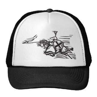Jousting Knight Right Trucker Hat