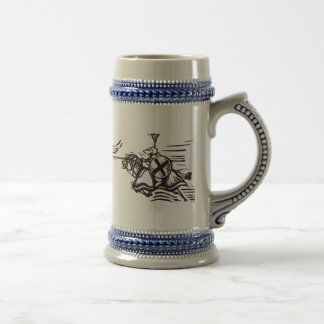 Jousting Knight Right Mugs