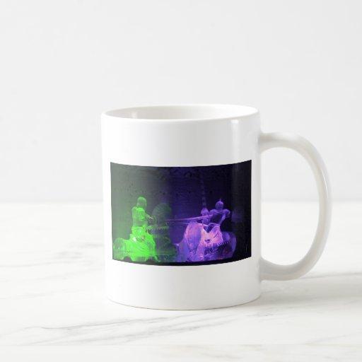 Jousting Knights Coffee Mug