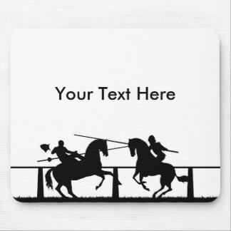 Jousting Mouse Pad