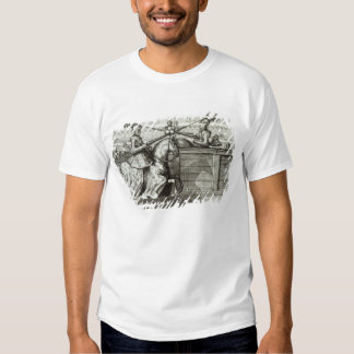 Jousting Tournament in a square Tee Shirts