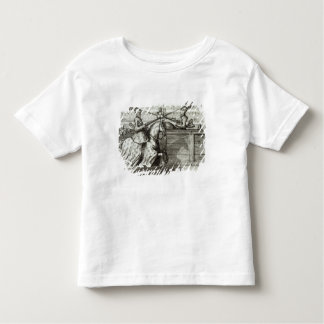 Jousting Tournament in a square Tshirts