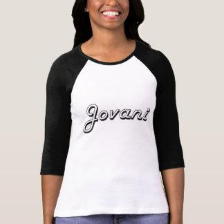 Jovani Classic Retro Name Design T-shirt