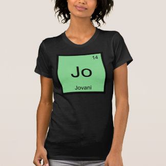 Jovani  Name Chemistry Element Periodic Table T-Shirt