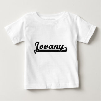 Jovany Classic Retro Name Design Tee Shirts