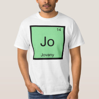 Jovany  Name Chemistry Element Periodic Table T-Shirt
