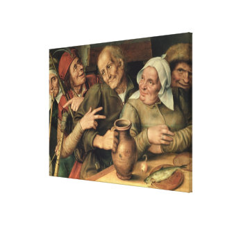 Jovial Company, 1564 Canvas Print