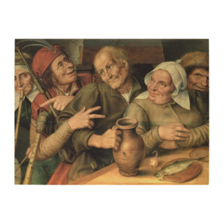 Jovial Company, 1564 Wood Wall Art