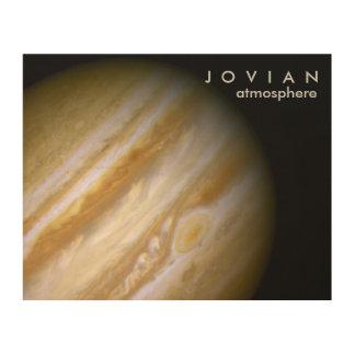 Jovian Atmosphere Wood Canvas