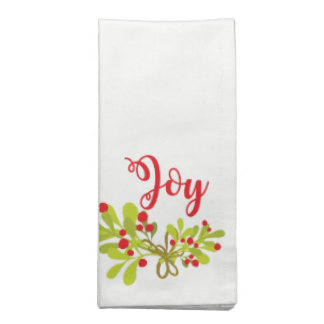 Joy And Ivy Holiday Party Cloth Napkins