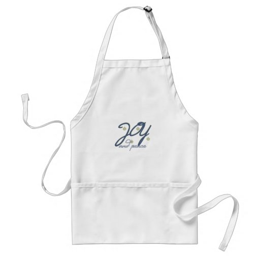Joy And Peace Aprons