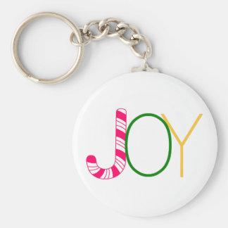 Joy Basic Round Button Key Ring
