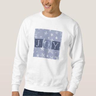 Joy Blue Stars Christmas Sweatshirt
