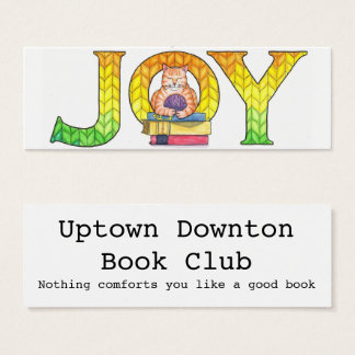 Joy Bookmarks (set of 20) Mini Business Card