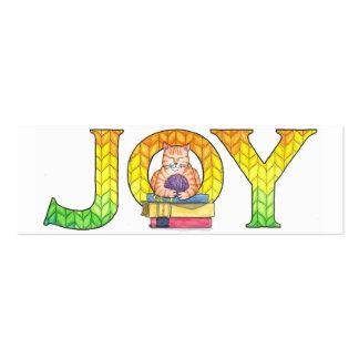 Joy Bookmarks (set of 20) Pack Of Skinny Business Cards
