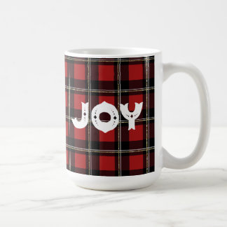 Joy Buffalo Check Plaid : Mug