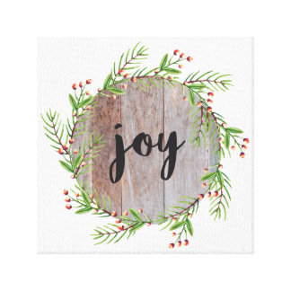 Joy - Christmas Canvas Decor