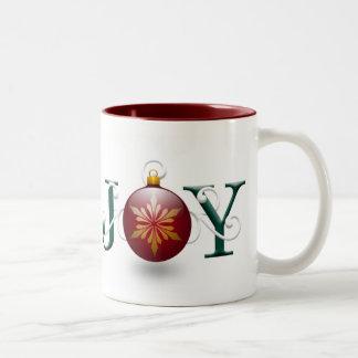 """""""Joy"""" Christmas Mug"""
