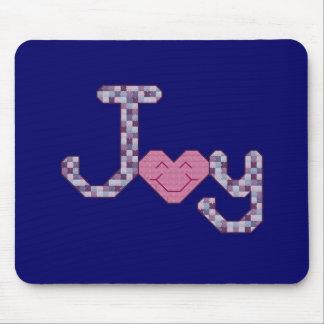 Joy Cross Stitch Mouse Mat